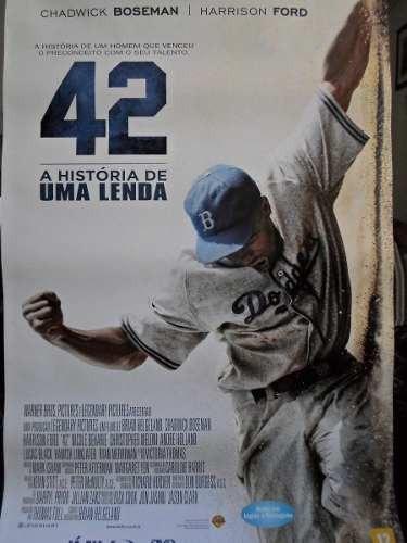 poster 42 - a historia de uma lenda -  64 x 94