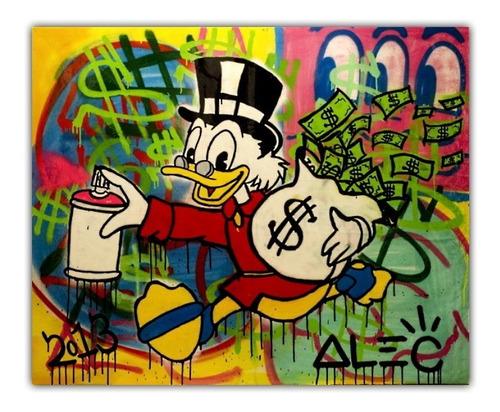 poster 50x60cm arte urbana obra alec monopoly #8 decorativo