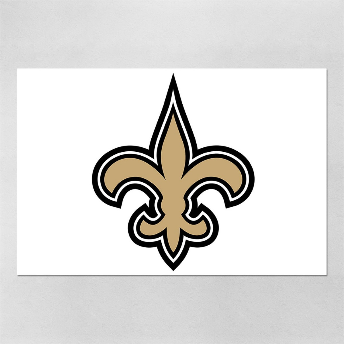 d67e19303 poster 60x90cm futebol americano nfl new orleans saints 45. Carregando zoom.
