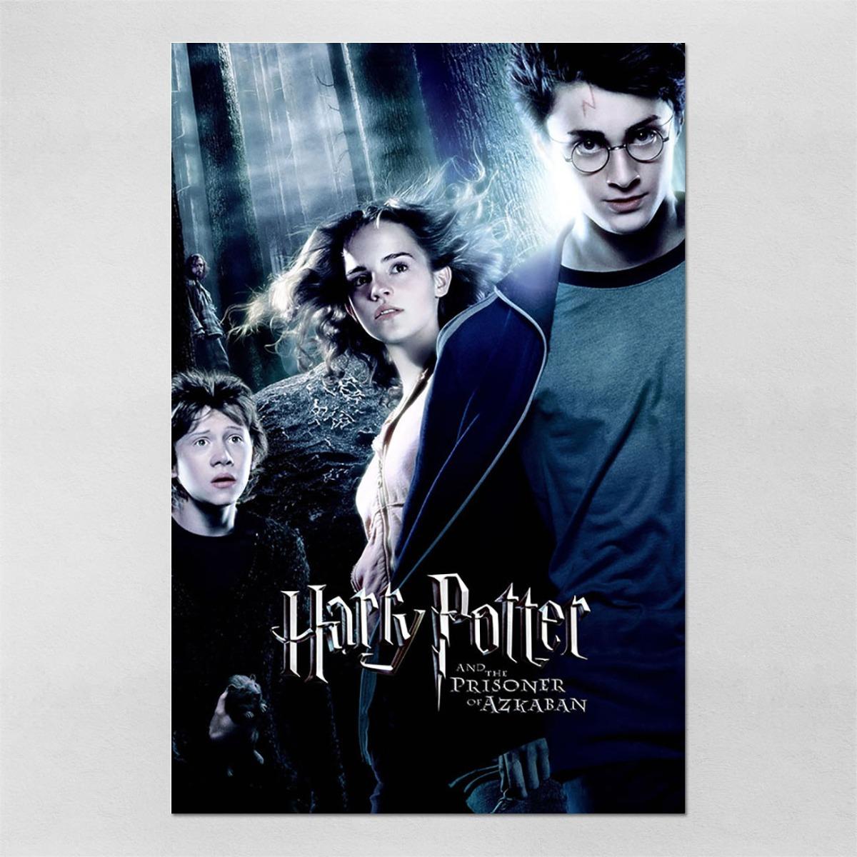 Poster 60x90cm Harry Potter 3 E O Prisioneiro De Azkaban 9