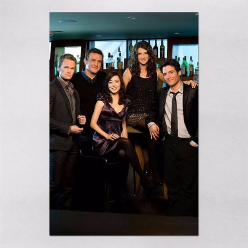 poster 60x90cm series himym how i met your mother