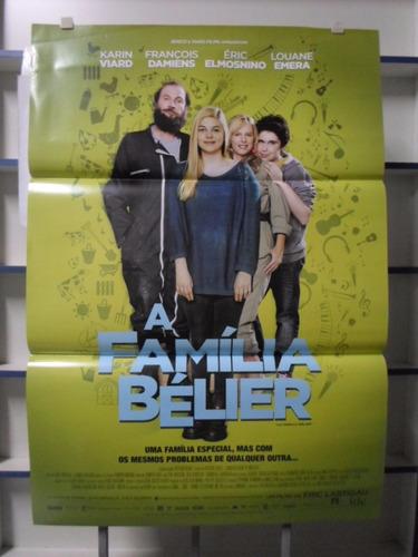 poster a familia belier - frete: 8,00