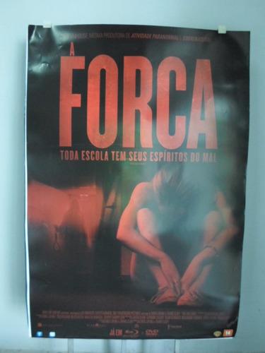 poster a forca - frete 8,00