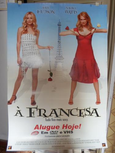 poster a francesa -  64 x 94