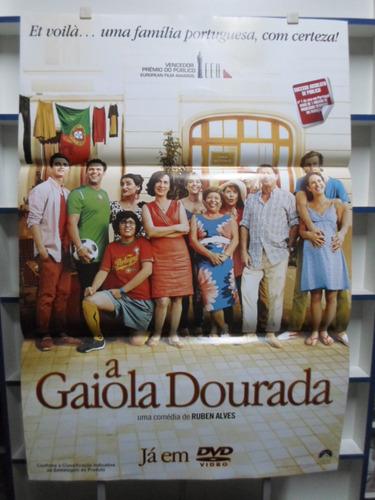 poster a gaiola dourada