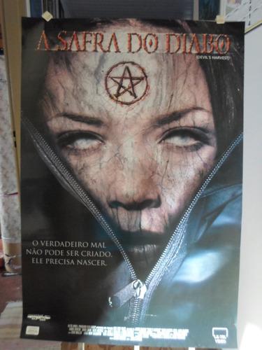 poster a safra do diabo -  64 x 94
