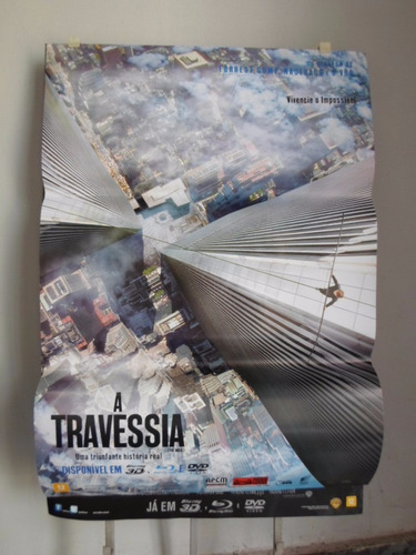 poster a travessia - 64 x 94