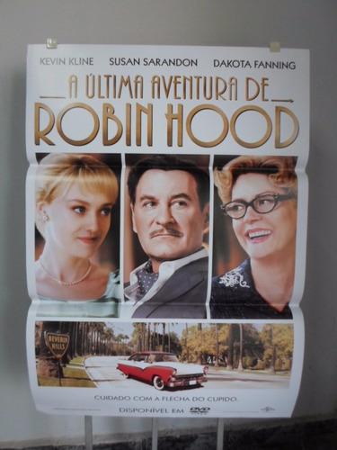 poster a ultima aventura de robin hood  -  64 x 94