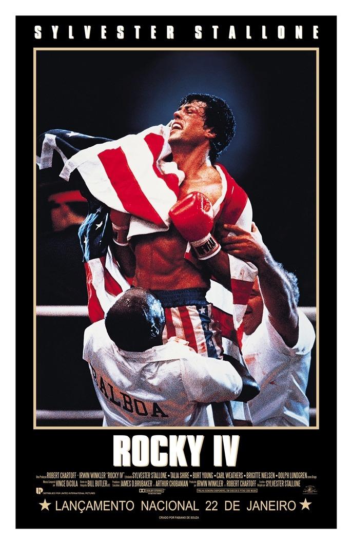 Resultado de imagem para rocky 4 poster
