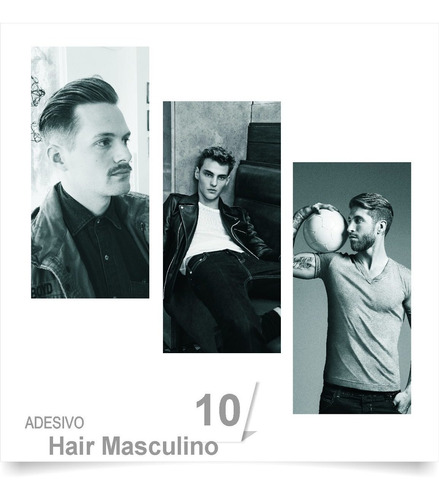 poster adesivo barbearia corte cabelo tesoura salao 10