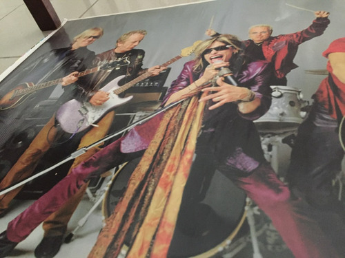 poster aerosmith impecable espectacular inconseguible oferta