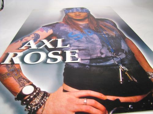 poster afiche axl rose studio photo.
