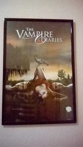 poster afiche enmarcado series de tv peliculas cine
