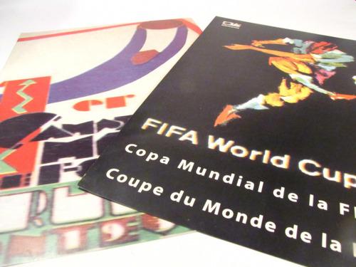 poster afiche mundiales de futbol uruguay 1930 brasil 1950 (