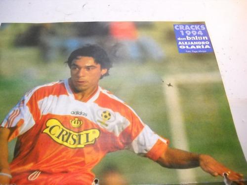 poster alejandro glaria, 1994, don balon.