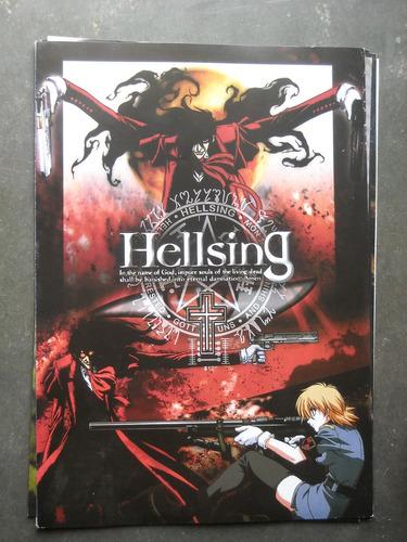 poster anime hellsing