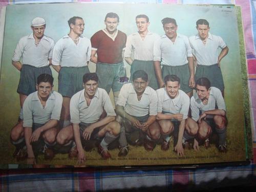 póster antiguo de provincia el gráfico 1937 futbol