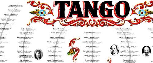 poster arbol del tango