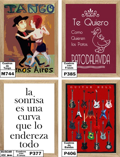 Poster Arte Enmarcado Guayasamin L852