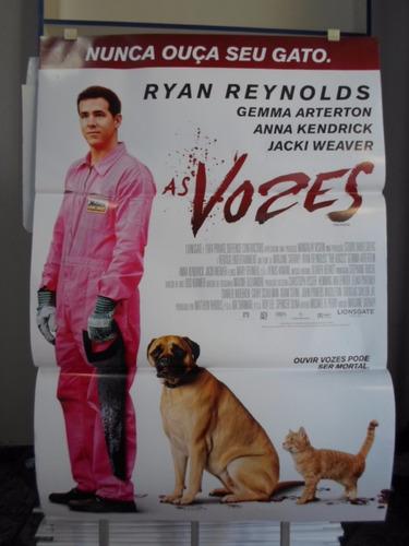 poster as vozes -  64 x 94