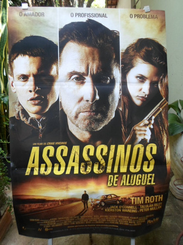 poster assassinos de aluguel - 64 x 94