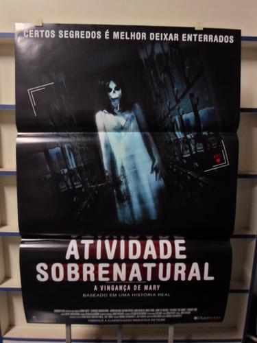poster atividade sobrenatural -  64 x 94
