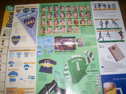 poster boca juniors - atlas del futbol argentino (376) ole