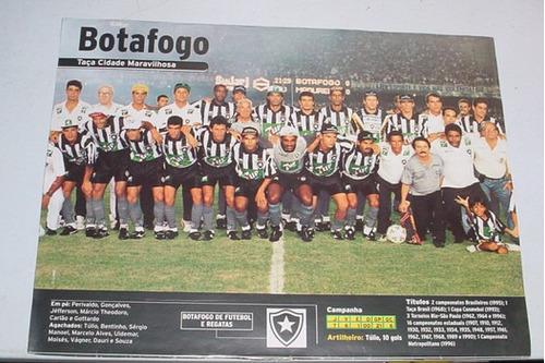 poster  botafogo  1996