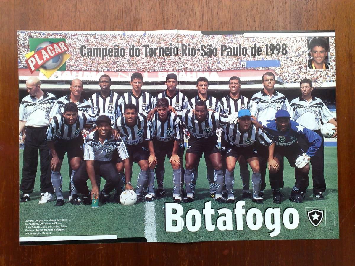 Poster Botafogo - Campeão Rio São Paulo 1998 - R  18 ce6b636872432