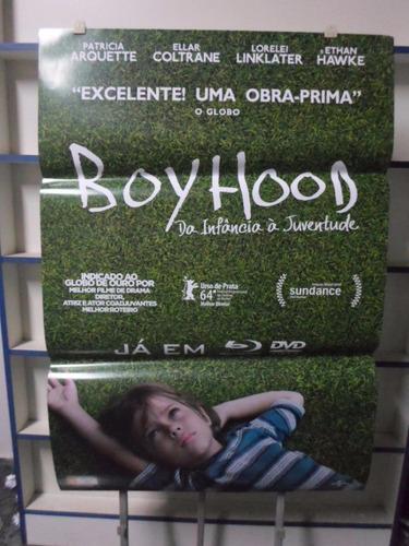 poster boyhood - da infancia a juventude - 64 x 94
