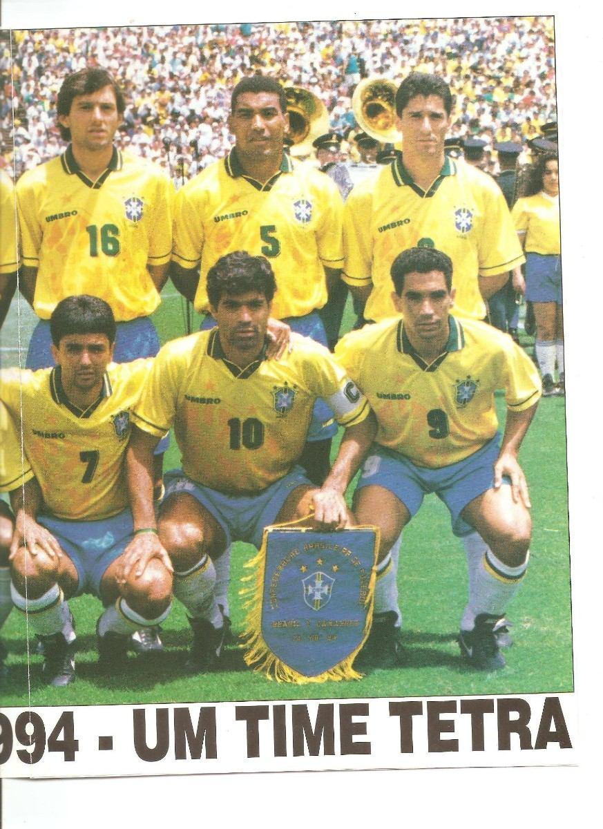 poster brasil copa do mundo de 94 um time tetra. Carregando zoom. c91ccca9bef8c