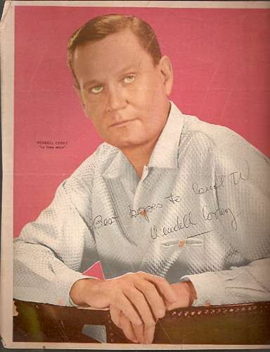 poster canal tv - la hora once - wendell corey (086)