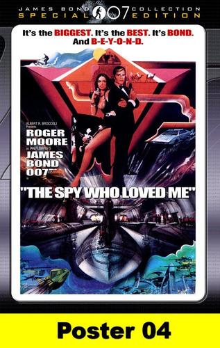 poster cartaz 007 o espião que me amava 30x40 #004