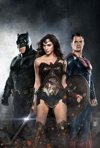 poster cartaz batman vs superman: a origem da justiça #i
