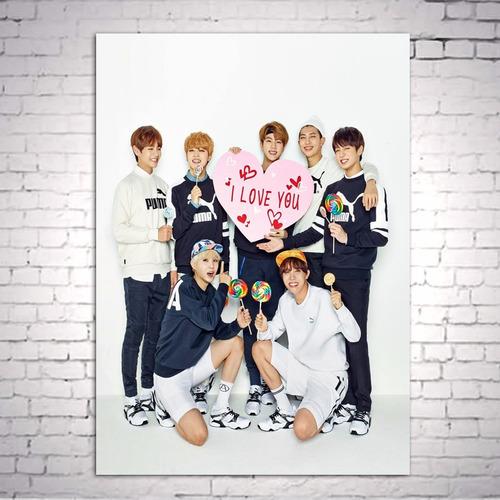 poster cartaz bts kpop a3