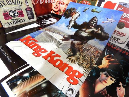 poster cartaz de cinema decoração retro anos 70 anos 80