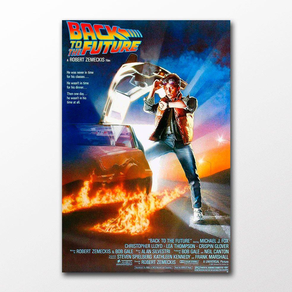 Poster Cartaz De Volta Para Futuro Decor Filme Cine Anos 80