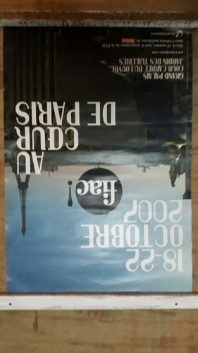 poster cartaz fiac 2007 paris.