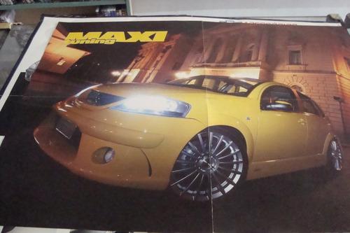 poster cartaz foto catalogo citroen c3  mazda rx-7 fortune
