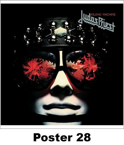 poster cartaz heavy metal 30x30 judas priest #3 (#21)