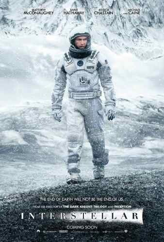 poster cartaz interstellar #d - 30x42cm