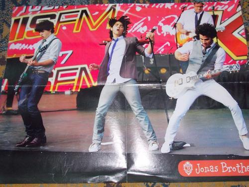 poster cartaz jonas brothers