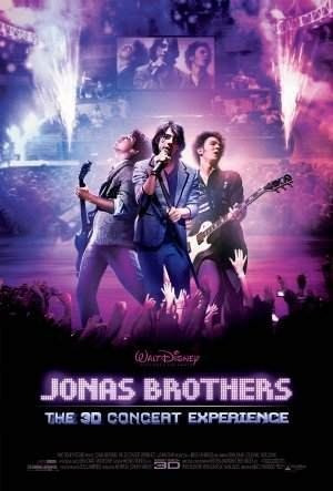 poster cartaz jonas brothers o show 3d