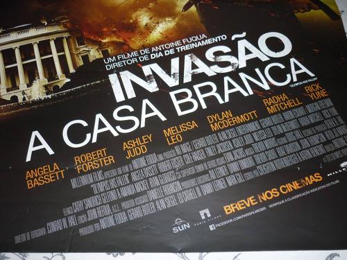 poster / cartaz oficial do filme invasão à casa branca