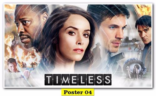 poster cartaz  tv 30x40 - timeless