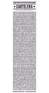 póster cartelera películas cine 1000 para ver antes d morir.