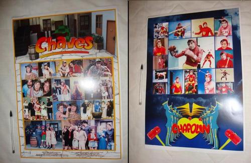 poster chaves e chapolin colorado coleção chaves sbt serie