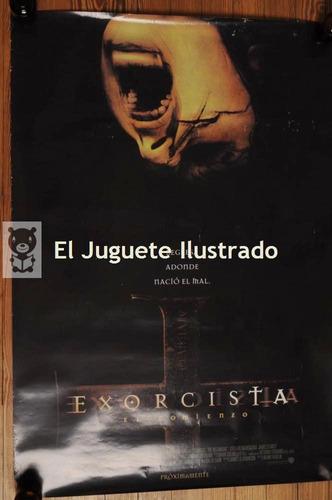 poster cine el exorcista 100 x 70 terror afiche pelicula