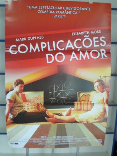 poster complicações de amor - 64 x 94