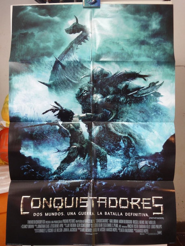poster conquistadores karl urban clancy brown moon bloodgoo